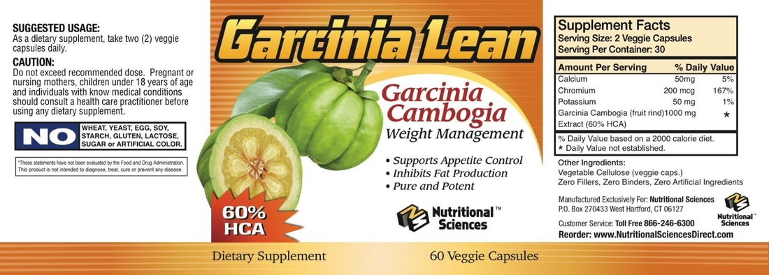 Nutritional Sciences Garcia Lean Garcinia Cambogia Weight
